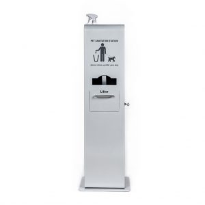 Keep it clean with our indoor pet waste station