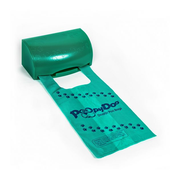 An image of our Poopy Doo Doggy Poo Pet Waste Dispenser Combo.
